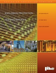 EXPlOSION PrOTECTION TESTING SErvICES - GSE Electric