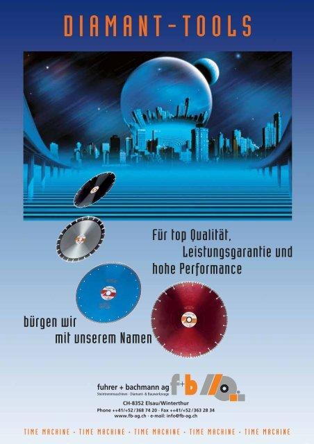 DIAMANT-TOOLS - fuhrer+bachmann AG