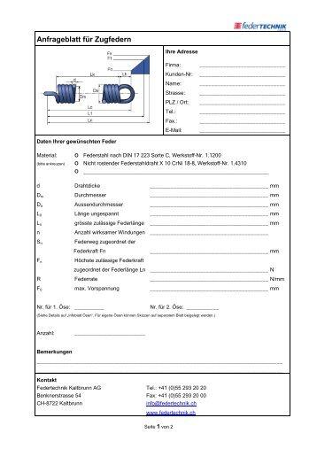 Anfrageformular - Straumann AG Lufttechnik + Farbspritzkabinen