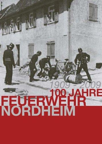 Download Festschrift [13,3 MB] - Freiwillige Feuerwehr Nordheim