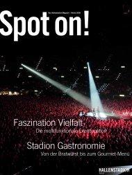 Spot on! 2006 (Betrieb / Multifunktionale Arena ... - Hallenstadion