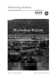 Full report - Safeguard for Agricultural Varieties in Europe