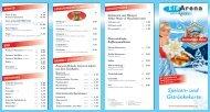 Speisen- und Getränkekarte - Eisarena Baden-Baden.