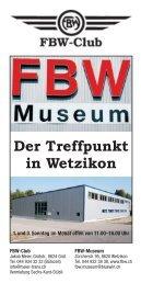 Der Treffpunkt in Wetzikon - Fbw-Club