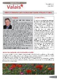 Newsletter 1 - Juin 2010 - pdf