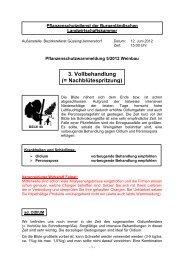Pflanzenschutzwarnmeldung 05/2012 Weinbau - Gemeinde ...