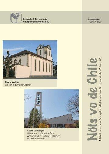 NVC Jan.-Febr. 2013 - Kirchgemeinde Wohlen