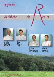 Revier-Köche-Frühling 2010.indd - Ein Revier
