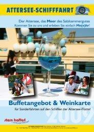 KALTE BUFFETS auf den Schiffen MS Stadt Vöcklabruck ... - Rotary