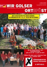 OrtSPÖst 04/2012 - SPÖ Gols