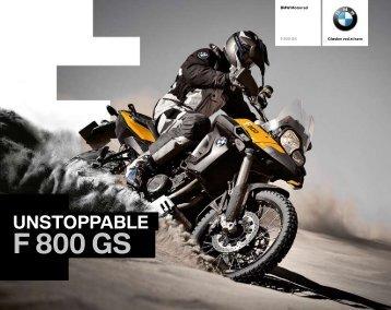 Katalog F 800 GS (PDF, 2406 KB) - BMW Motorrad Danmark