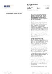 Die Spreu vom Weizen trennen St. Galler Tagblatt ... - ch-motorist