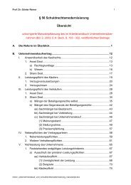 56 Schuldrechtsmodernisierung Übersicht - Prof. Dr. jur. Günter Reiner