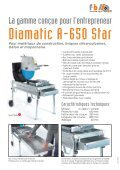 Prospectus Diamatic A-650 Star - fuhrer+bachmann AG - Page 2