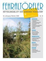 Neu auf der Gemeinde - Gemeinde Fehraltorf