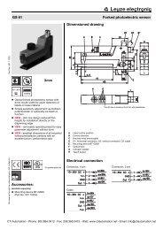 Leuze Mini Series Photo Electric Sensor - CTi Automation