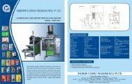 SHUBHAM FLEXIBLE PACKAGING M/GS IPI LTD.