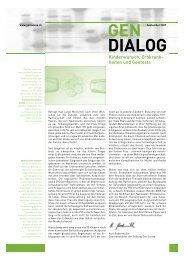 Gen Dialog - Dr. med. Peter Fehr