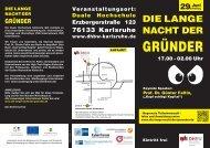 GRÜNDER - DHBW Karlsruhe