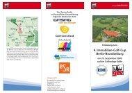 4. Immobilien-Golf-Cup Berlin-Brandenburg - RDM