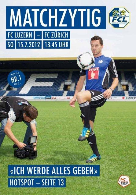 «ICH werde ALLES Geben» - FC Luzern