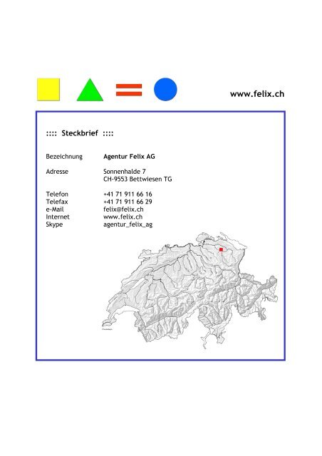Download - Agentur Felix AG