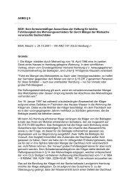 AGBG § 9 BGH: Kein formularmäßiger Ausschluss der ... - BAG-SB