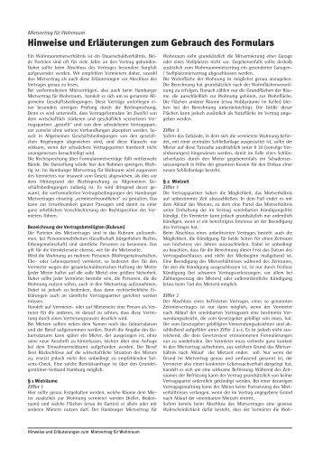 Unbefristeter Mietvertrag über Wohnraum Zur Text Vorlagen