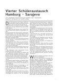 Schüler-Austausch Projekt 2008 - Hamburg - Sarajevo - Seite 7