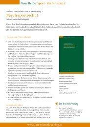 Werbeblatt - Jan Sramek Verlag
