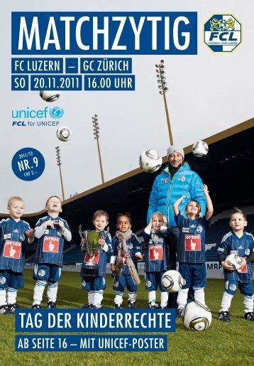 auch im Wir freuen uns auf ein - FC Luzern