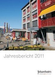 Jahresbericht 2011 - felsenheim