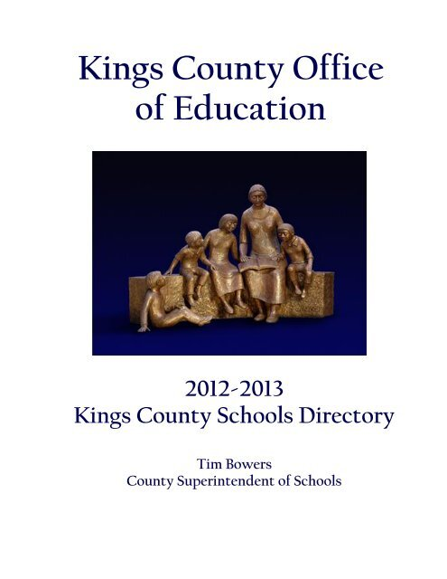 12 13 Kc Directory Final Kings County Office Of Education