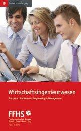 Studiengangsflyer - Fernfachhochschule Schweiz