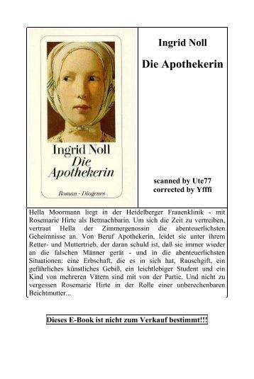 Ingrid Noll — Die Apothekerin - Deutscher Klub