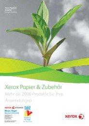Xerox Papier & Zubehör