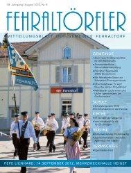 Pepe Lienhard Orchester - Gemeinde Fehraltorf