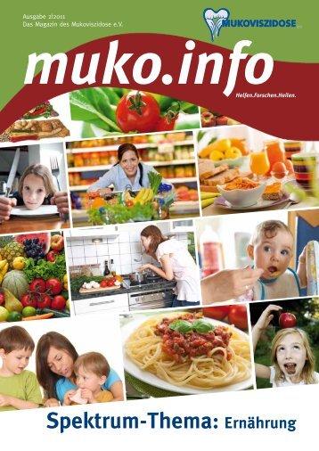 Spektrum-Thema: Ernährung - Mukoviszidose e.V.