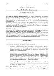 Dienst für familiäre Anvertrauung - Bezirksgemeinschaft ...