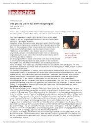 Artikel aus dem Beobachter (PDF) 2002