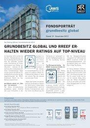 grundbesitz global - RREEF Real Estate