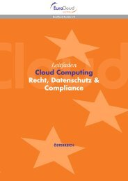 Leitfaden Cloud Computing - EuroCloud.Austria