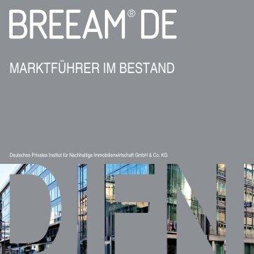 BREEAM DE In Use Broschüre Oktober 2012 - Prime Office AG