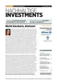 INVESTMENTS - Handelsblatt