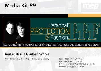 Media Kit 2012 - PPF