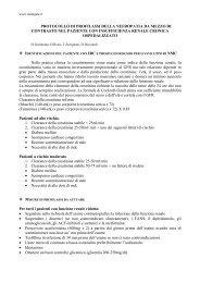 PROTOCOLLO DI PROFILASSI DELLA NEFROPATIA ... - Renalgate