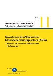 Info-Brief Nr. 11 - des Bundesministerium des Innern - Bund.de