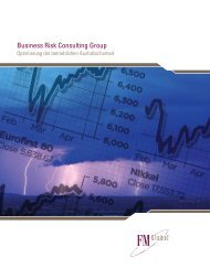 Business Risk Consulting Group - FM Global