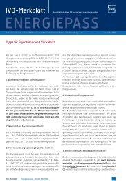 Merkblatt Energieausweis - Aigner Immobilien GmbH