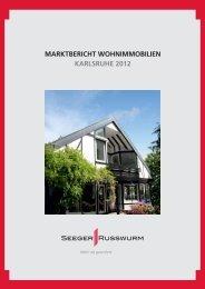 S&R Wohnimmobilien 2012 - SEEGER & RUSSWURM Immobilien ...